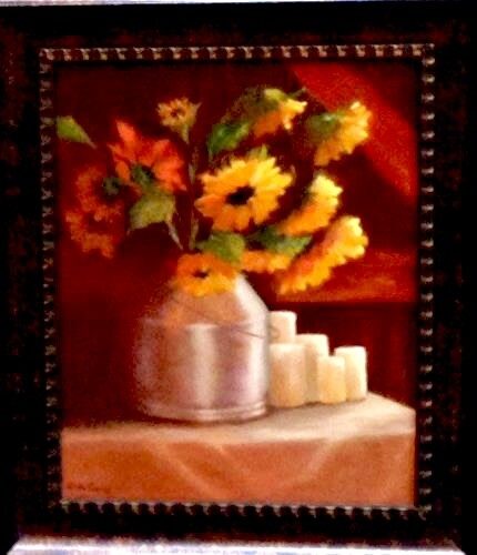 """Sunny Side Up"" original fine art by Linda Carney"