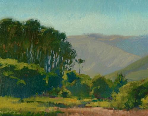 """Big Lagoon"" original fine art by J. Thomas soltesz"