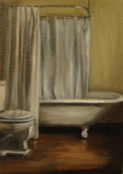 """""""A Nice Old Couple"""" original fine art by Jonelle Summerfield"""