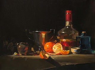 """Quiet Festivity"" original fine art by Qiang Huang"
