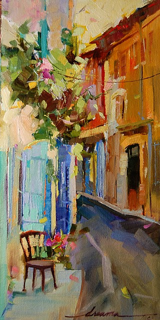 """Magical Dance of Italy"" original fine art by Dreama Tolle Perry"