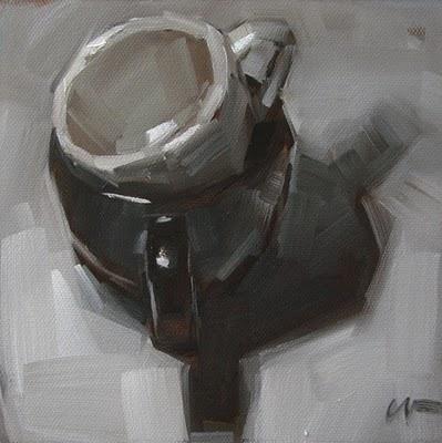 """Black & White"" original fine art by Carol Marine"