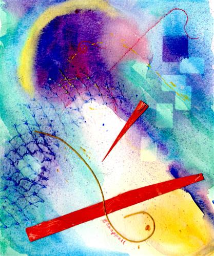 """New Awakenings"" original fine art by Becky Chappell"