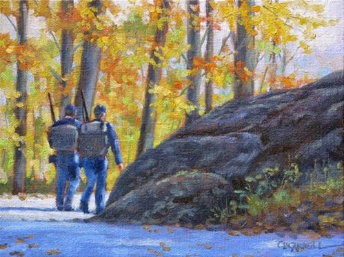 """""""'Turning Point ' An Original Oil Painting by Claire Beadon Carnell"""" original fine art by Claire Beadon Carnell"""