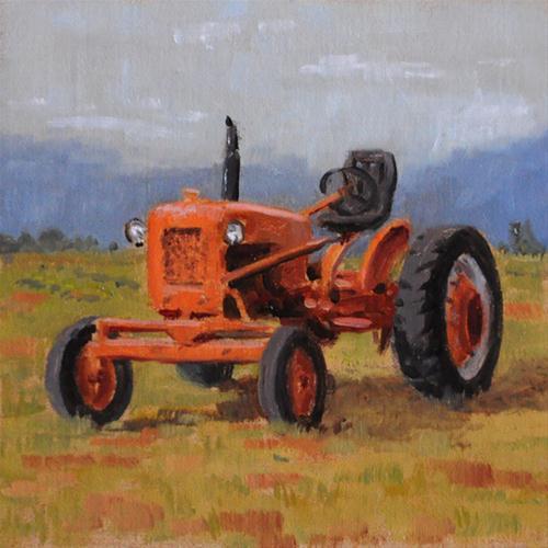 """Old Timer"" original fine art by Susan Matteson"