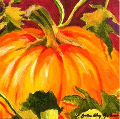 """October First"" original fine art by JoAnne Perez Robinson"