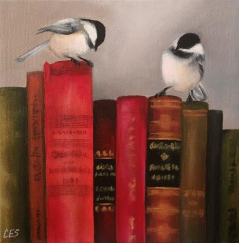 """Knowledge Seekers"" original fine art by ~ces~ Christine E. S. Code"