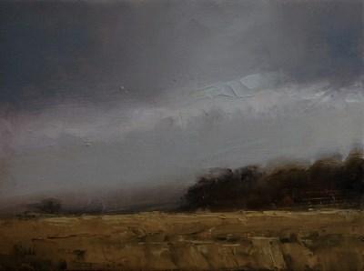 """Crop Field"" original fine art by Neil Carroll"