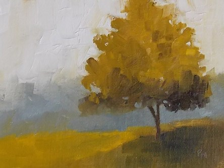 """Autumn Tree"" original fine art by Pamela Munger"