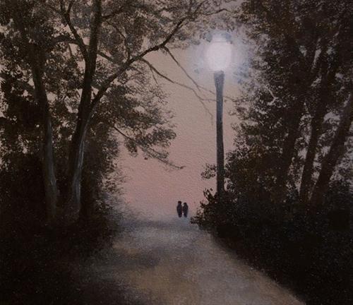 """""""INTIMATE WHISPERS"""" original fine art by Gerald Schwartz"""