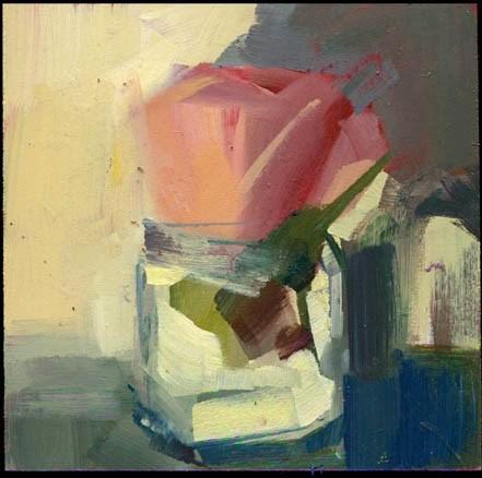 """1921 Profile"" original fine art by Lisa Daria"