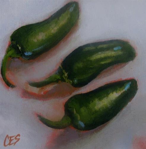 """""""The Three Amigos"""" original fine art by ~ces~ Christine E. S. Code"""