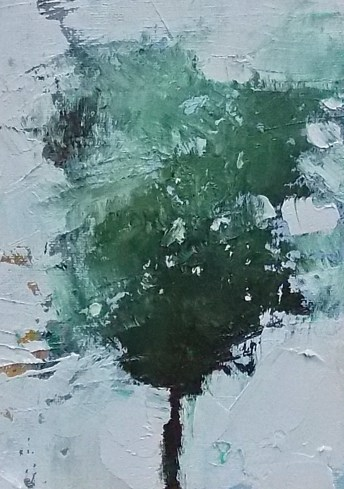 """Abstract Tree"" original fine art by Pamela Munger"