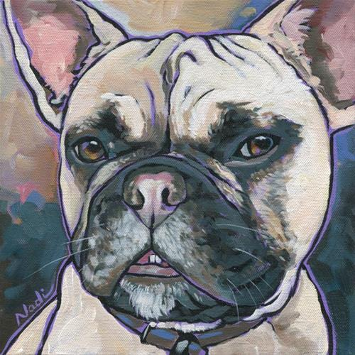 """Opie"" original fine art by Nadi Spencer"