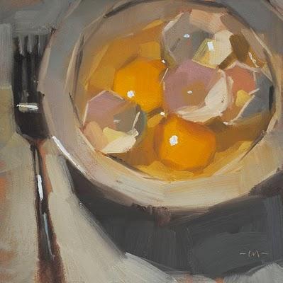 """Pileup"" original fine art by Carol Marine"