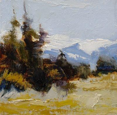"""Autumn High Country"" original fine art by Susan Hammer"