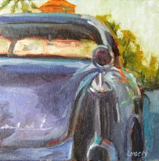 """Imperial Ride"" original fine art by Wanda Lowery"