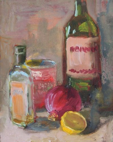 """Let's Cook, Contemporary Still Life Paintings by Arizona Artist Amy Whitehouse"" original fine art by Amy Whitehouse"