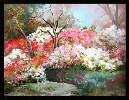 """Woodward Park"" original fine art by Linda Dunbar"