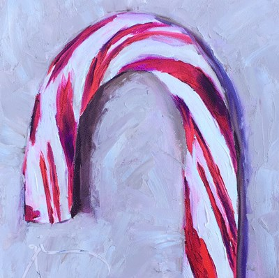 """Candy Cane"" original fine art by Gigi ."