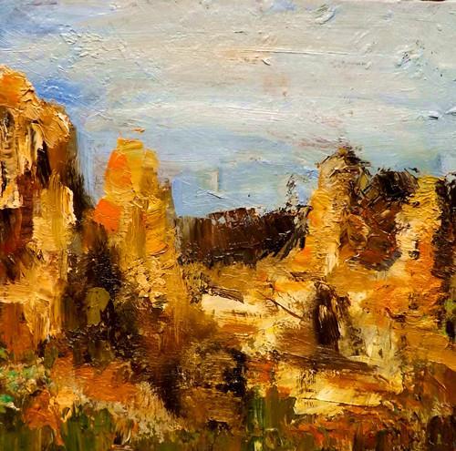 """Landscape,s24"" original fine art by Run-      Zhang Zane"