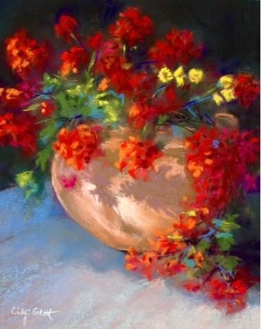 """""""Evening Shadows"""" original fine art by Cindy Gillett"""