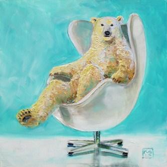 """chill"" original fine art by Kimberly Applegate"