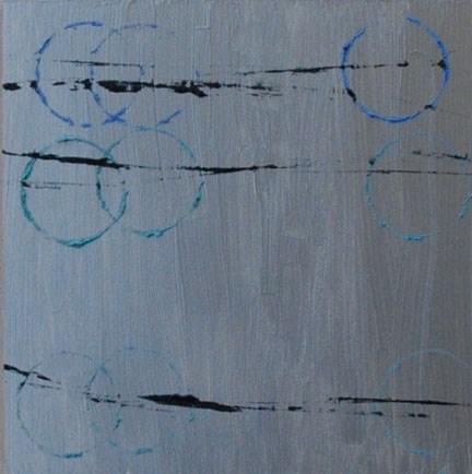 """ROUTE"" original fine art by Linda Popple"