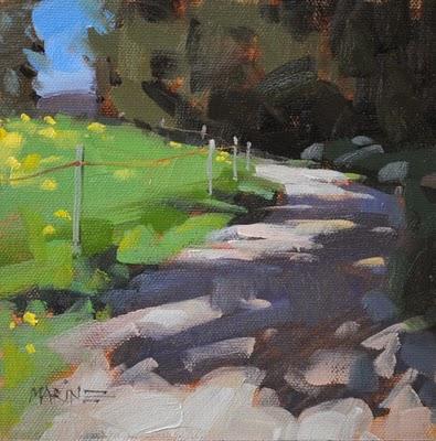 """""""Schatten Weg"""" original fine art by Carol Marine"""