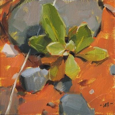 """Sedona Miniscape"" original fine art by Carol Marine"