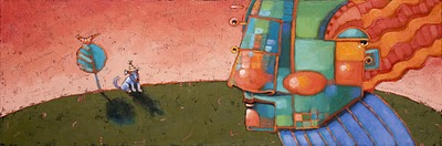 """Dog Three: The Keeper"" original fine art by Brenda York"