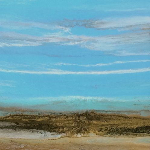 """Abstract Seascape Painting Sea Study 44 by Colorado Contemporary Artist Kimberly Conrad"" original fine art by Kimberly Conrad"