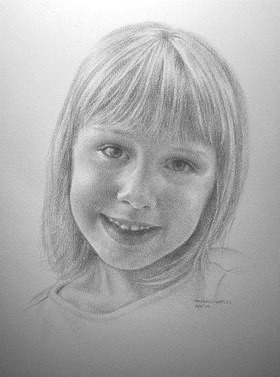 """""""New Portrait"""" original fine art by Michael Naples"""