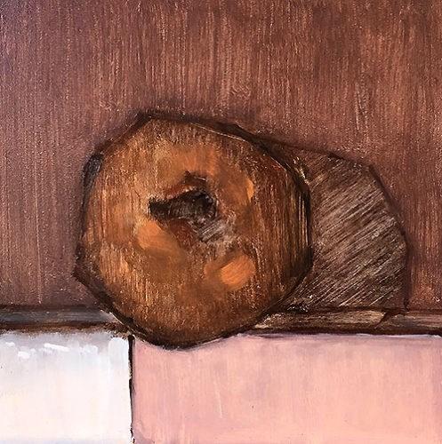 """Cinnamon Cake Donut"" original fine art by Kevin Inman"