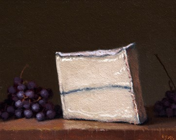 """Champagne Grapes and Humboldt Fog (the light, the shade)"" original fine art by Abbey Ryan"
