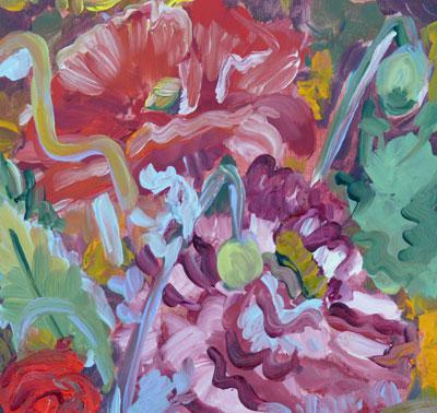 """Garden Drea,"" original fine art by Darlene Young"