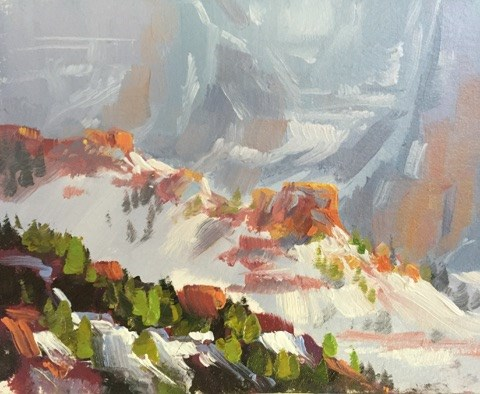 """Kolob Ridges 1"" original fine art by Mary Jabens"