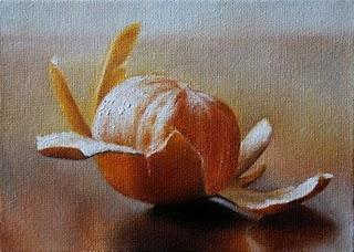 """Clementine"" original fine art by Jonathan Aller"