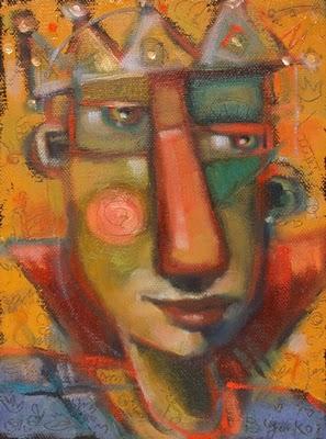 """Prince Balderdash"" original fine art by Brenda York"
