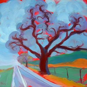 """""""Valley Fog 2"""" original fine art by Pam Van Londen"""