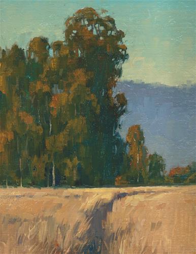 """""""Through the grasses"""" original fine art by J. Thomas soltesz"""