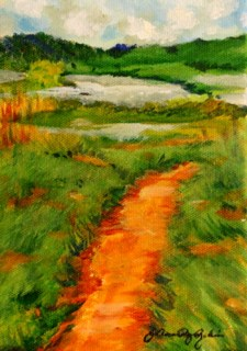 """Nature's Path"" original fine art by JoAnne Perez Robinson"