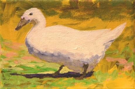 """Saltine"" original fine art by Mary McInnis"