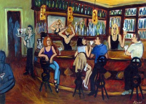 """DaDa"" original fine art by Valerie Vescovi"