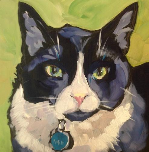 """Flynn"" original fine art by Kat Corrigan"