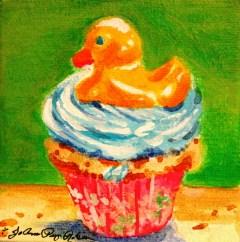 """Just Ducky"" original fine art by JoAnne Perez Robinson"