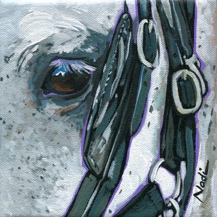 """Eye"" original fine art by Nadi Spencer"
