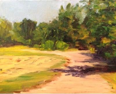 """""""Landscape Series 1"""" original fine art by Debra Kennedy"""