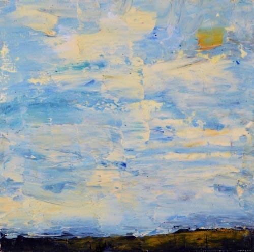 """Oil Landscape No 29"" original fine art by Katie Jeanne Wood"