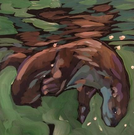 """Underneath"" original fine art by Kat Corrigan"